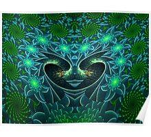 The Escher Water Fairy Queen Poster