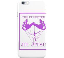 The Puppeteer Jiu Jitsu Purple  iPhone Case/Skin