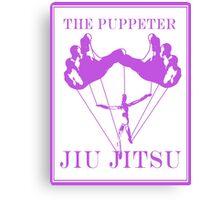 The Puppeteer Jiu Jitsu Purple  Canvas Print