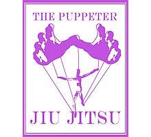 The Puppeteer Jiu Jitsu Purple  Photographic Print