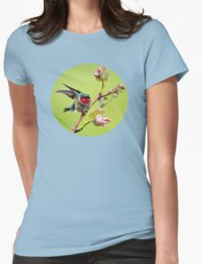 On a Wing and a Prayer Hummingbird Art T-Shirt