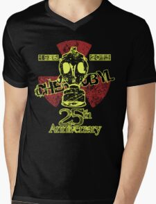 B.- CHERNOBYL 25th ANNIVERSARY REMEMBRANCE  Mens V-Neck T-Shirt