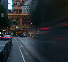 Elizabeth Street - Melbourne by Timo Balk