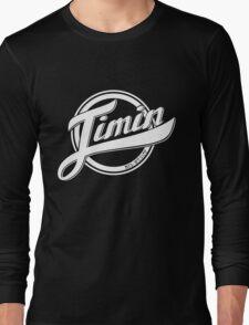 Jimin - BTS Member Logo Series (White) Long Sleeve T-Shirt