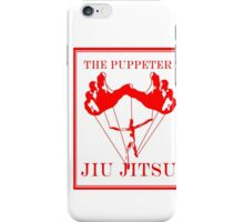 The Puppeteer Jiu Jitsu Red iPhone Case/Skin