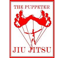 The Puppeteer Jiu Jitsu Red Photographic Print