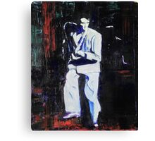Portrait of David Byrne, Talking Heads Canvas Print