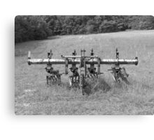 Plow for Farming Canvas Print
