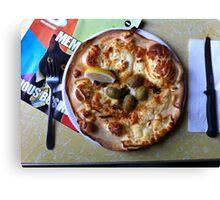 Pizza Il Greco Canvas Print
