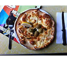 Pizza Il Greco Photographic Print