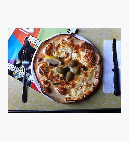 Pizza Il Greco Photographic Print