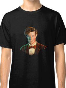 Matt Smith colour portrait Classic T-Shirt