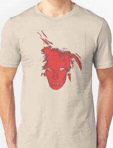 Andy Warhol Self Portrait (Red) T-Shirt