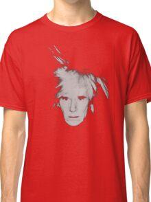 Andy Warhol Self Portrait Classic T-Shirt