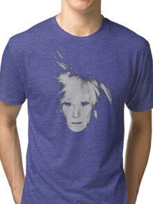 Andy Warhol Self Portrait Tri-blend T-Shirt