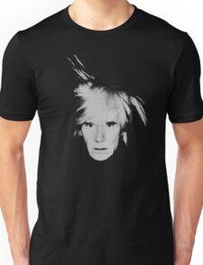 Andy Warhol Self Portrait Unisex T-Shirt