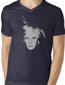Andy Warhol Self Portrait Mens V-Neck T-Shirt