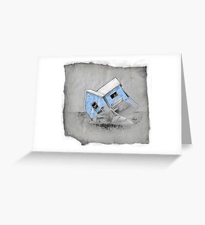 House of Decay Greeting Card