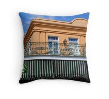 French Market Outdoor Eating Throw Pillow