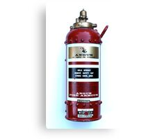 Old 1964 Fire Extinguisher. Canvas Print