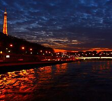 City of Light - Paris, France by Tejana Howes