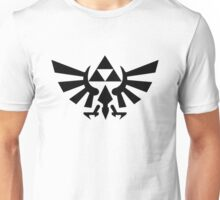 Zelda - Triforce (Black) Unisex T-Shirt