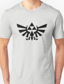 Zelda - Triforce (Black) T-Shirt