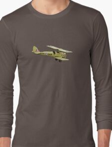 De Havilland Tiger Moth ZK-DAM Long Sleeve T-Shirt