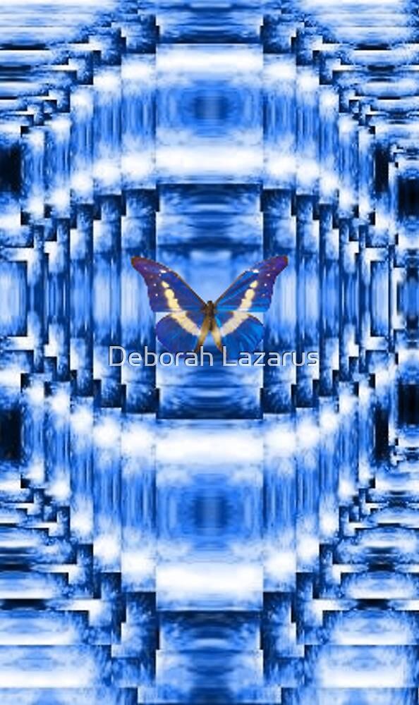 Blue Sky Butterfly by Deborah Lazarus