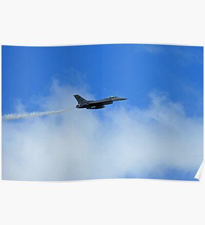F-16 Cruising Poster