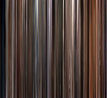 Moviebarcode: Three Colours Trilogy (1993-1994) by moviebarcode