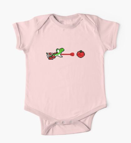 Yoshi - pixel art One Piece - Short Sleeve