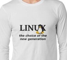 Linux Generation Long Sleeve T-Shirt