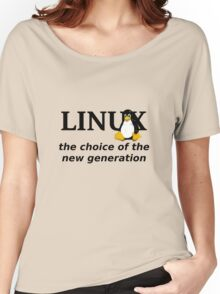 Linux Generation Women's Relaxed Fit T-Shirt