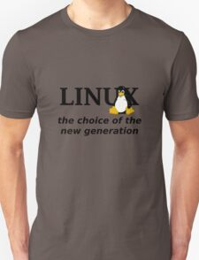 Linux Generation Unisex T-Shirt