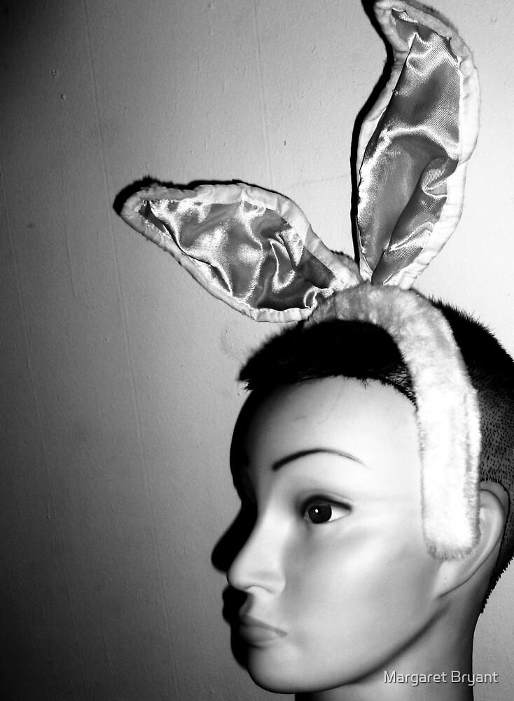 Mandy's Easter Bunny Mug-Shot by Margaret Bryant