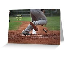 Happy Birthday Sport! Greeting Card