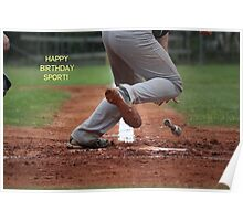 Happy Birthday Sport! Poster