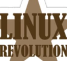 Linux Revolution Sticker