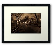 Peace...in the Park Framed Print
