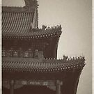 """Chinese Roofline II by Christine """"Xine"""" Segalas"""