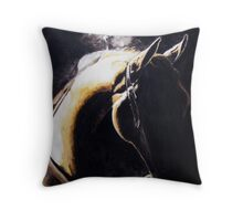 In the Dark of the Morning Throw Pillow
