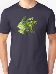 Green Water Nature Abstract Art T-Shirt