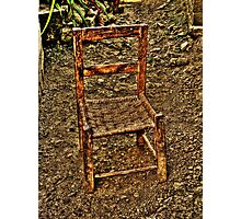 That old man chair Photographic Print