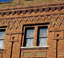 Thannish Block Building, Fort Worth, TX by Debbie Robbins