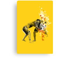 NO GI GRAPPLING POSTER Canvas Print