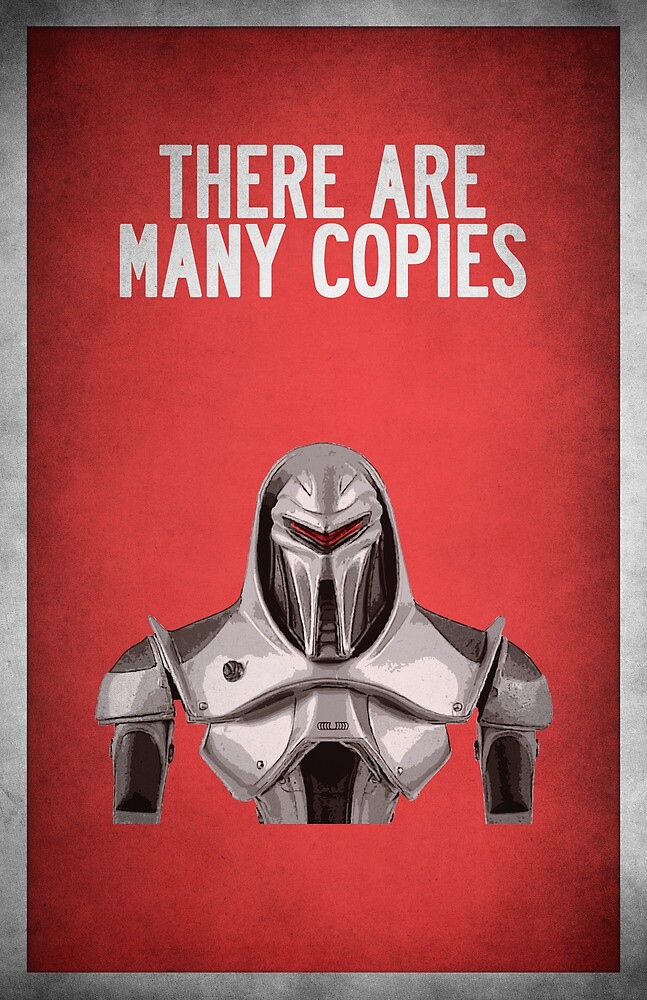 There are many copies by lovecrafted