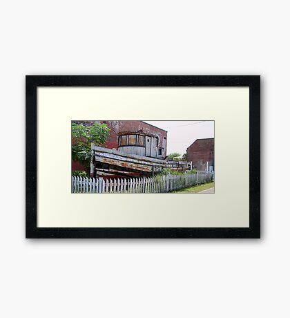 SS Minnow Framed Print