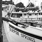 At the Sponge Docks by Laurie Perry