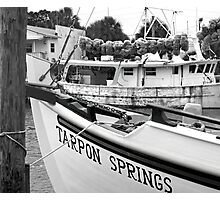 At the Sponge Docks Photographic Print